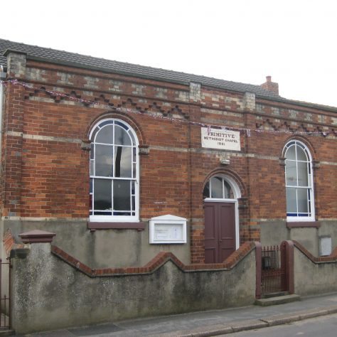 Westwoodside Primitive Methodist chapel | Elaine and Richard Pearce July 2012