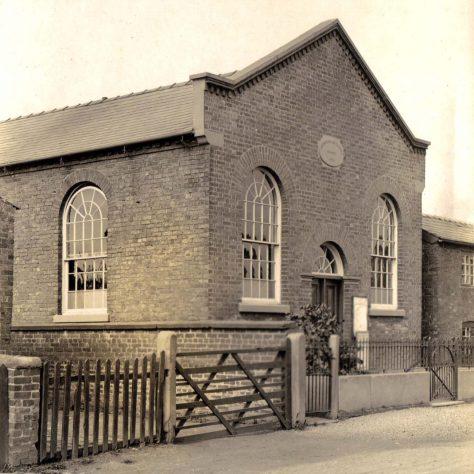 Wettenhall PM Church, Cheshire.