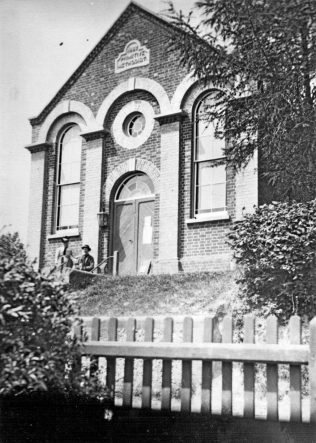 Primitive Methodist chapel, 1887
