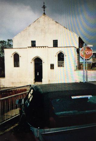 Former Church of Scotland building which became Wishaw Methodist Church circa 1891