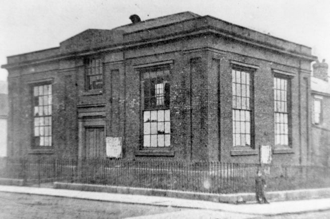The first Williamson Tce PM Chapel built in 1840 | Newcastle upon Tyne District Archives