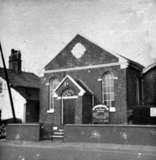 Photo No. 1.   This photo is by kind permission of the Society at Winterley Methodist Chapel and Cheshire South Circuit