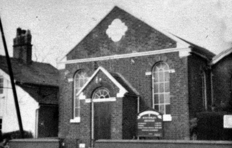 Winterley Primitive Methodist Chapel Cheshire