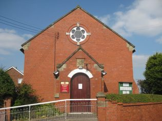 Woodseaves (Jubilee) Primitive Methodist Chapel High Offley Road Staffordshire