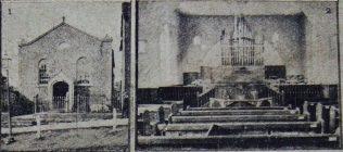 Wootton Basset Primitive Methodist chapel   Christian Messenger 1922