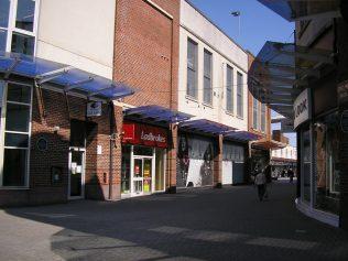 Workington, John Street, the site where the chapel stood, 24.5.2016