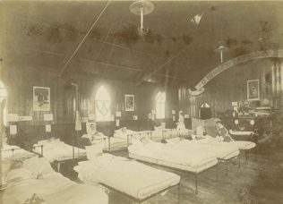 Temporary Fever Hospital Methodist Chapel Lyndhurst Road Worthing 1893 | PP/WSL/POO2780 West Sussex County Library Service
