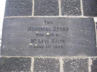 What did this memorial represent? Date?