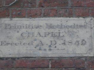 Yorton Heath PM Chapel Shropshire